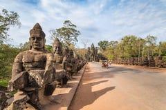 η banteay λίμνη της Καμπότζης angkor lotuses συγκεντρώνει siem το ναό srey Στοκ φωτογραφίες με δικαίωμα ελεύθερης χρήσης