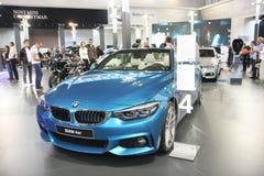 Η BMW στο αυτοκίνητο Βελιγραδι'ου παρουσιάζει Στοκ φωτογραφία με δικαίωμα ελεύθερης χρήσης