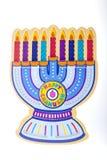 1$η chanukah ημέρα menorah xxl Στοκ Εικόνες