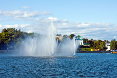 Η Chuvash δημοκρατία, Ρωσία. Κεφάλαιο Chuvashiya η πόλη Cheboksary Στοκ Εικόνα