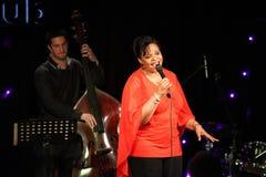 Η Deborah J. Carter απέδωσε στη VIP λέσχη του Ζάγκρεμπ στοκ φωτογραφίες
