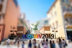 Η eauropean πολιτιστική πρωτεύουσα 2019, Plovdiv Στοκ φωτογραφία με δικαίωμα ελεύθερης χρήσης