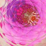 Η Floral κάρτα ή το έμβλημα σχεδίου με τους στροβίλους των τουλιπών αναπηδά την εικόνα στα τρυφερά χρώματα στοκ φωτογραφία