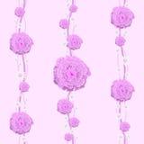 Η Floral ταπετσαρία είναι για το δωμάτιο ενός παιδιού Στοκ Φωτογραφίες
