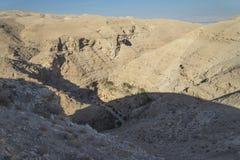 Η Judean έρημος Ισραήλ Στοκ Φωτογραφία
