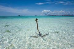 Η Makassar TAKA Flores παραλία στοκ φωτογραφίες