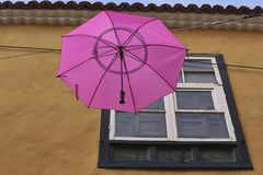 Η Mary Poppins πέταξε Στοκ φωτογραφία με δικαίωμα ελεύθερης χρήσης
