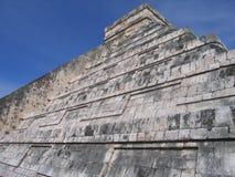η mayan πυραμίδα itza Στοκ Φωτογραφία