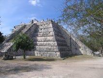 η mayan πυραμίδα itza Στοκ φωτογραφία με δικαίωμα ελεύθερης χρήσης
