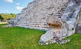 η mayan πυραμίδα του Μεξικού itza Στοκ εικόνα με δικαίωμα ελεύθερης χρήσης