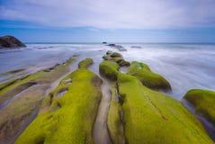 Η mossy πέτρα Στοκ φωτογραφία με δικαίωμα ελεύθερης χρήσης