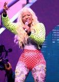 Η Nicki Minaj αποδίδει στη συναυλία στοκ φωτογραφία με δικαίωμα ελεύθερης χρήσης