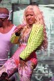 Η Nicki Minaj αποδίδει στη συναυλία στοκ εικόνες με δικαίωμα ελεύθερης χρήσης