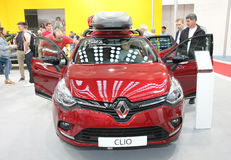 Η Renault στο αυτοκίνητο Βελιγραδι'ου παρουσιάζει Στοκ φωτογραφία με δικαίωμα ελεύθερης χρήσης