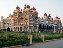 Η Royal Palace στο Mysore, Ινδία Στοκ Φωτογραφίες