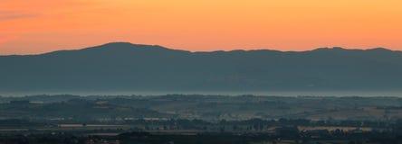 Η Tuscan Dawn στοκ εικόνες