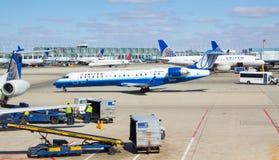 Πολυάσχολος αερολιμένας του Σικάγου O'$l*Harez Στοκ Εικόνα