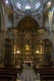 Η Virgin της βασιλικής μοναστηριών του Guadalupe, Caceres, Ισπανία στοκ φωτογραφία με δικαίωμα ελεύθερης χρήσης