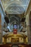 Η Virgin της βασιλικής μοναστηριών του Guadalupe, Caceres, Ισπανία στοκ φωτογραφίες