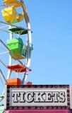 Θάλαμος εισιτηρίων σε καρναβάλι Στοκ Εικόνα