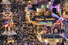 Θάλαμος εκθεσιακών χώρων σε Oktoberfest Στοκ Φωτογραφίες