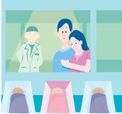 θάλαμος μητρότητας Στοκ Φωτογραφίες