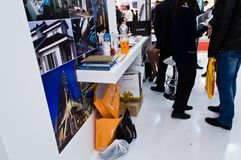 Θάλαμος Luxsteel σε MosBuild 2013 Στοκ Εικόνα