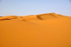 θάλασσα άμμου της Λιβύης Στοκ Εικόνα