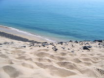 θάλασσα άμμου Στοκ Εικόνα
