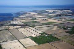 θάλασσα αγροκτημάτων πε&delt Στοκ Εικόνες