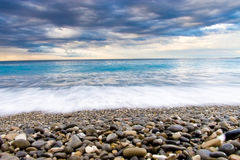 θάλασσα ακτών κινηματογρ& στοκ εικόνες