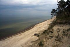 θάλασσα ακτών Στοκ εικόνες με δικαίωμα ελεύθερης χρήσης