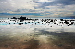 θάλασσα ακτών Στοκ Φωτογραφία
