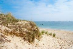 θάλασσα αμμόλοφων Στοκ φωτογραφίες με δικαίωμα ελεύθερης χρήσης