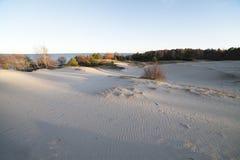 θάλασσα αμμόλοφων Στοκ Εικόνα