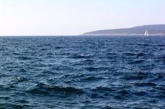 θάλασσα ανασκόπησης Στοκ Φωτογραφία