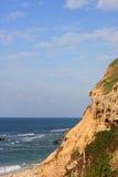 θάλασσα απότομων βράχων Στοκ φωτογραφία με δικαίωμα ελεύθερης χρήσης
