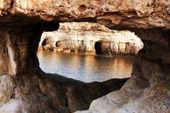 θάλασσα απότομων βράχων Στοκ Εικόνα