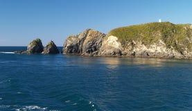 θάλασσα απότομων βράχων Στοκ φωτογραφίες με δικαίωμα ελεύθερης χρήσης