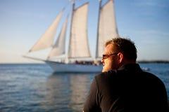 θάλασσα ατόμων Στοκ Εικόνες