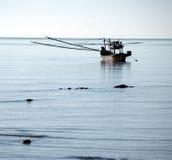 θάλασσα βαρκών Στοκ Εικόνα