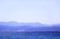 θάλασσα βουνών Στοκ Φωτογραφία