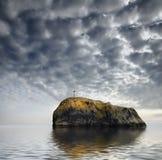 θάλασσα βουνών Στοκ Φωτογραφίες