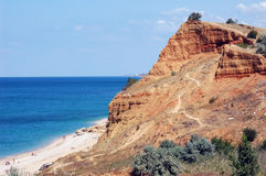 θάλασσα βράχου στοκ εικόνα με δικαίωμα ελεύθερης χρήσης