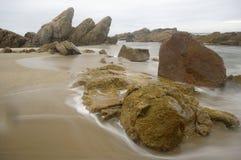 θάλασσα βράχου Στοκ Φωτογραφίες