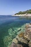 θάλασσα βράχου στοκ φωτογραφία με δικαίωμα ελεύθερης χρήσης