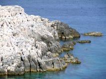θάλασσα βράχου Στοκ Εικόνα