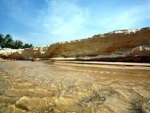 θάλασσα βράχων στοκ φωτογραφίες