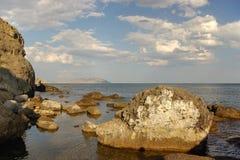 θάλασσα βράχων στοκ φωτογραφίες με δικαίωμα ελεύθερης χρήσης