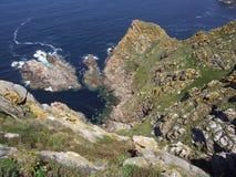 θάλασσα βράχων Στοκ εικόνα με δικαίωμα ελεύθερης χρήσης